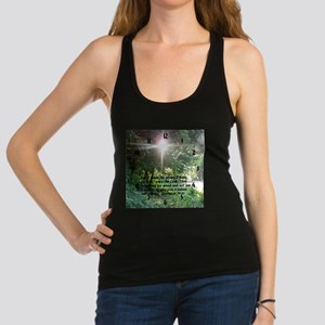 Sunbeam of Hope/Scripture Racerback Tank Top